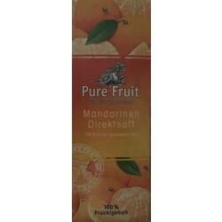 Mandarinen Direktsaft