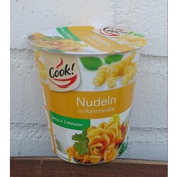 Cook! - Nudeln in Rahmsoße