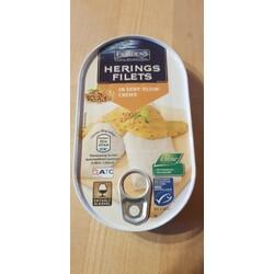 Fjördens – Heringsfilets in a) Tomaten-Curry-Sauce / in b) Pfeffercreme
