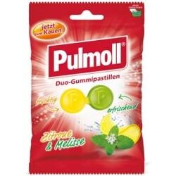 Pulmoll Duo-Gummipastill. Zitrone&Melisse, 100 g