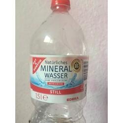 Gut & Günstig - Natürliches Mineralwasser - still