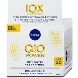 Nivea Q10 Power Anti-Falten + Straffung Schützende Tagespflege