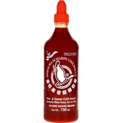 Flying Goose Sriracha scharf & süß Chilisauce, 730 ml
