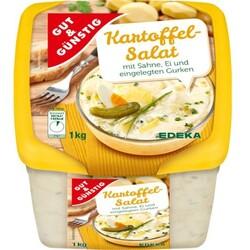 Gut & Günstig - Kartoffelsalat mit Sahne, Ei und eingelegten Gurken