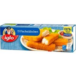 iglo - 15 Käpt'ns Fischstäbchen