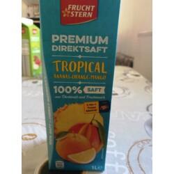 Tropical Ananas-Orange-Mango Saft