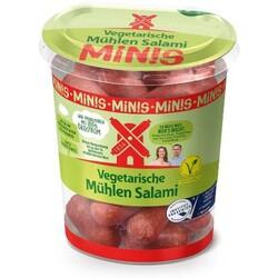 Vegetarische Mühlen Salami Minis