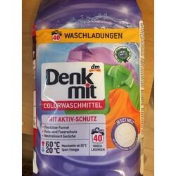 Denk mit Colorwaschmittel