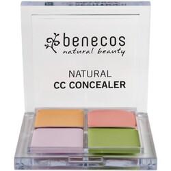 benecos Natural CC Concealer beige, grün, rosa, lila