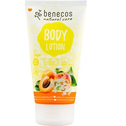 benecos Natural Body Lotion Aprikose & Holunderblüte