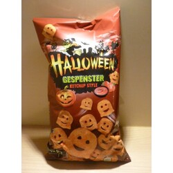 Halloween Gespenster Ketchup Style