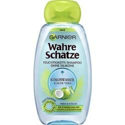 Garnier Wahre Schätze - Feuchtigkeitsspendendes Shampoo mit Kokoswasser & Aloe Vera
