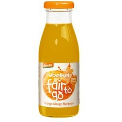 Voelkel fair to go Orange Mango Maracuja Saft, 250 ml