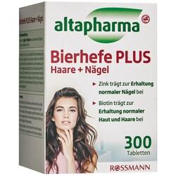 altapharma Bierhefe PLUS Haare & Nägel Tabletten