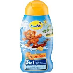 SauBär Kids Dusche + Shampoo + Pflegespülung 3in1