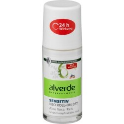 alverde NATURKOSMETIK Deo Roll On Deodorant Sensitiv Dry Aloe Vera