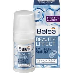 Balea Augencreme Beauty Effect Eye & Lip Serum