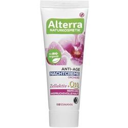 Alterra Anti-Age Nachtcreme Orchidee Q10