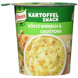 "Knorr - KARTOFFEL SNACK ""Röstzwiebeln & Croûtons"""
