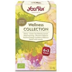 Yogi Tea Wellness Collection, 6x3 Btl, 32,4 g