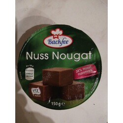 Backfee Nuss Nougat