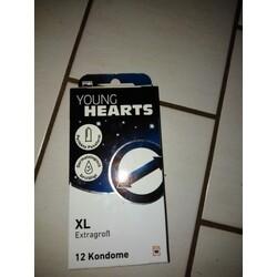 Young Hearts Kondome XL Extragroß - 2200201455830