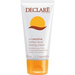 Declaré sun sensitive sunless facial tanning cream (Crème  50ml)