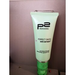 p2 profesional perfect face anti-red base