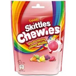 Fruit Skittles Chewies- Kaubonbons ohne Hülle