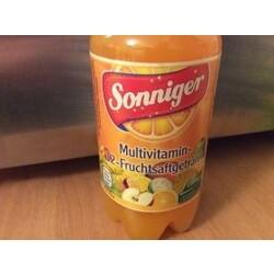 Sonniger Multivitamin-12-Fruchtsaftgetränk