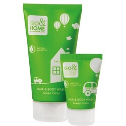 Go & Home Hair & Body Wash Green Citrus