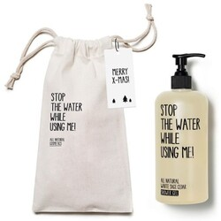 Stop the water while using me All Natural X-Mas Bag