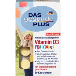 DAS gesunde PLUS Vitamin D3 Kautabletten