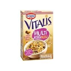 Dr. Oetker Vitalis Multikorn Müsli dunkle Schoko & Nuss