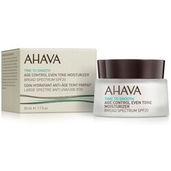 Ahava Gesichtspflege Time To Smooth Even Tone Mositurizer Broad Spectrum SPF 20   50 ml