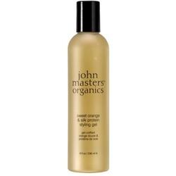 John Masters Organics SWEET ORANGE SILK PROTEIN STYLING GEL - Glanz & Textur ...