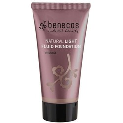 benecos Natural Light Fluid Foundation mocca