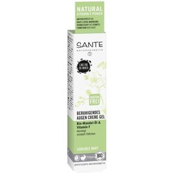 Sante Beruhigendes Augencreme Gel Bio-Mandel-Öl & Vitamin F
