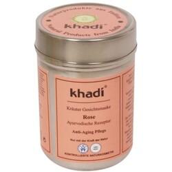 khadi Ayurvedische Gesichtsmaske ROSE- für normale, & reife Haut - Masque Visage