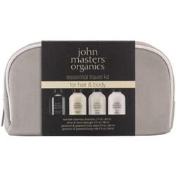 John Masters Organics JMO Hair Care - Essential Travel Kit for Hair & Body