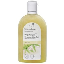 Schoenenberger Naturkosmetik Pflegeshampoo plus Ingwer & Bambus (250 ml) von Schoenenberger Naturkosmetik