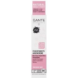 SANTE Feuchtigkeits Augencreme, Inca-Inchi-Öl-Sheabutter (15 ml) von SANTE