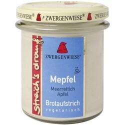 Zwergenwiese Brotaufstrich Mepfel Meerettich Apfel