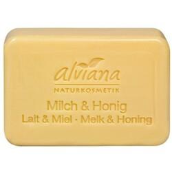 alviana Pflanzenöl-Seife Milch und Honig