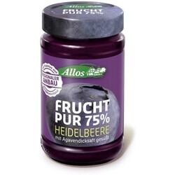 Allos Frucht pur 75% Heidelbeere