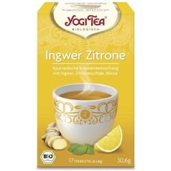 YOGI TEA Ingwer Zitrone Bio 17X1.8 g