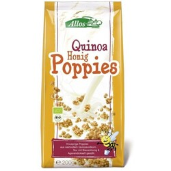 Allos Poppies Quinoa Honig Bio