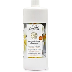 Farfalla volume & shine shampoo, Frangipani-Inkanuss
