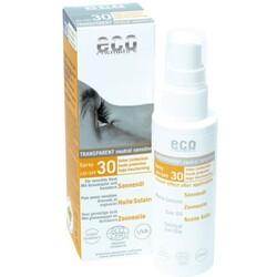 eco cosmetics Bio Sonnenöl LSF 30, Sanddorn-Granatapfel (50 ml) von eco cosmetics