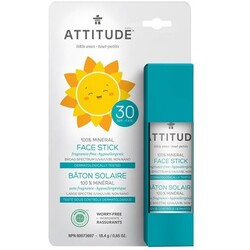 Attitude Baby Face and Lip SPF30 - Fragrance Free